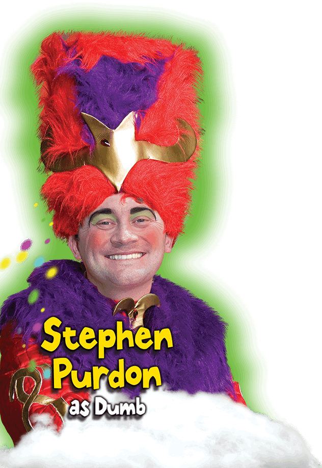 Stephen Purdon as Dumb